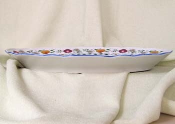 Cibulák misa oválna - NATURE, farebný cibulák m 35 ccibulový porcelán, originálny cibulák Dubí 1. akosť