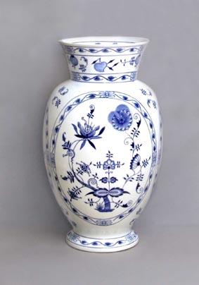 Cibulak vaza 48 cm cibuľovy porcelan originalny cibuľak dubi 2 akost